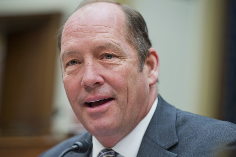 Rep. Ted Yoho, R-Fla., appears at a House Foreign Affairs Committee, Feb. 26, 2014.