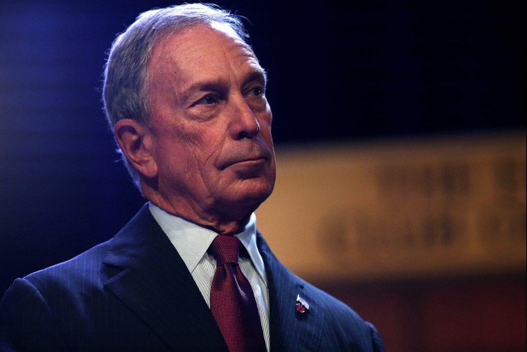 Michael Bloomberg speaks to the Economic Club of New York on Dec. 18, 2013 in New York City.