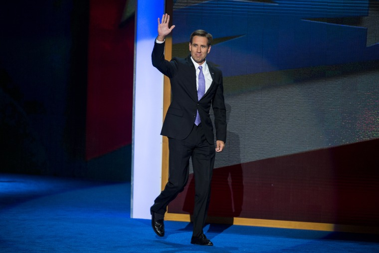 Beau Biden speaks at the Democratic National Convention, in Charlotte, N.C., on Sept. 6, 2012.