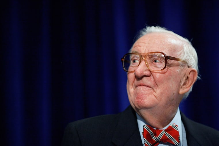 Retired U.S. Supreme Court Associate Justice John Paul Stevens speaks at an event, May 21, 2012, in Washington, D.C.