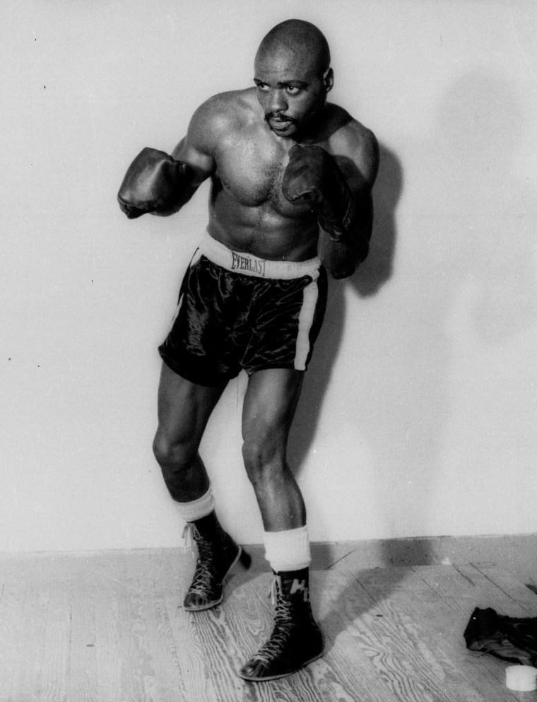 A Dec. 13,1964 photo of Rubin Carter.