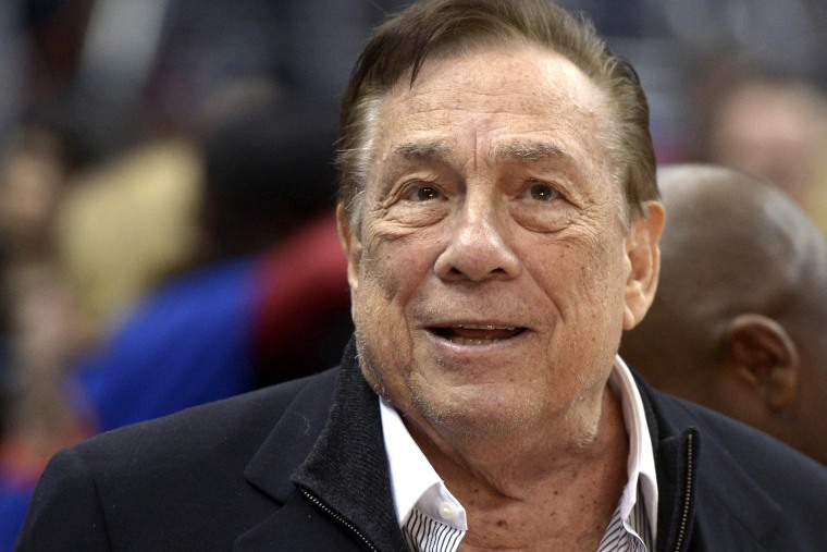 Los Angeles Clippers owner Donald Sterling attends a game against the Los Angeles Lakers at Staples Center in Los Angeles, Calif. on January 10, 2014.