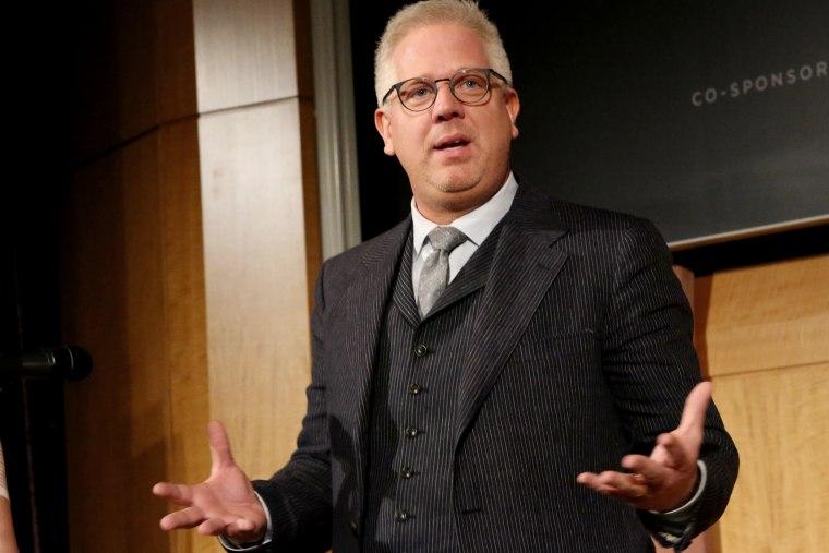 Glenn Beck speaks on April 26, 2013 in New York City.