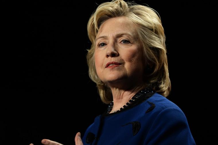 Hillary Clinton speaks at the University of Miami, Feb. 26, 2014 in Miami, Fla.