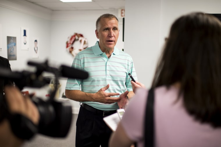 GOP Senate candidate Thom Tillis