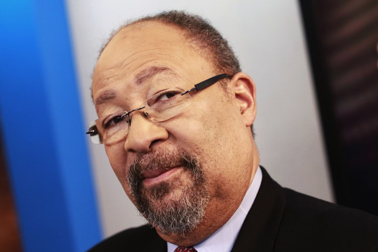 Richard Parsons, the former chairman of Citigroup and former chairman and CEO of Time Warner, poses in New York, Dec. 18, 2013.