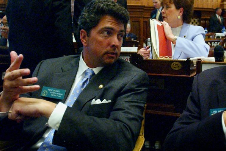 Michael Boggs, as a Georgia State Representative in 2004.