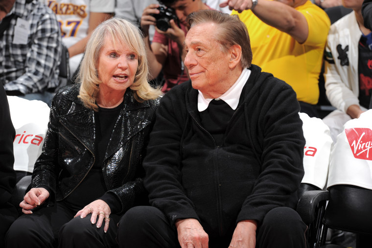 Los Angeles Clippers owner, Donald Sterling, attends a game against the Indiana Pacers at Staples Center on April 1, 2013 in Los Angeles, Calif.