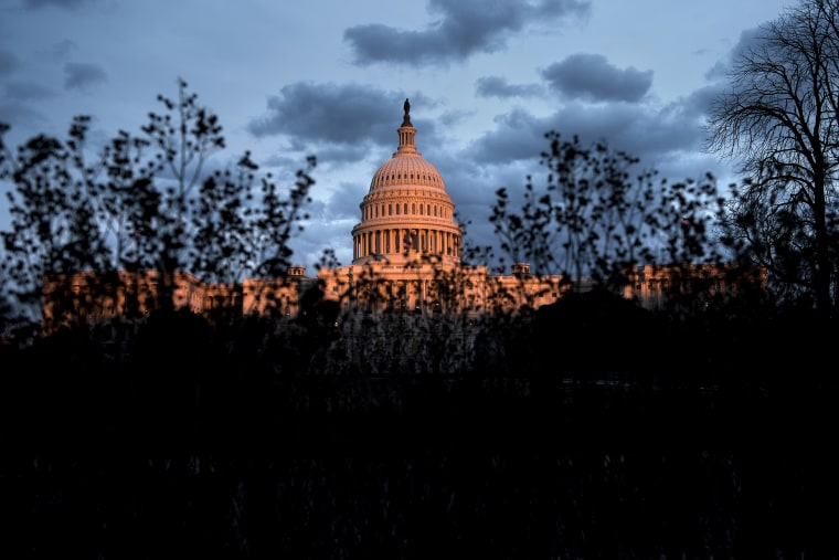 A view of the US Capitol on Jan. 27, 2014 in Washington, D.C.