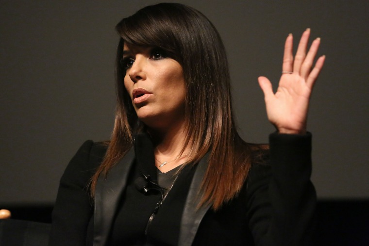 Eva Longoria attends an event at the 2014 Tribeca Film Festival, April 26, 2014, in New York, N.Y.