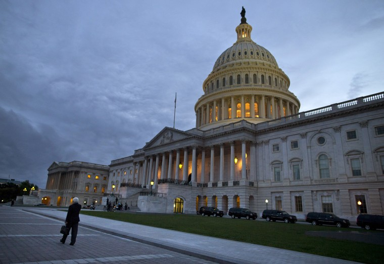 A view of the U.S. Capitol building in Washington.