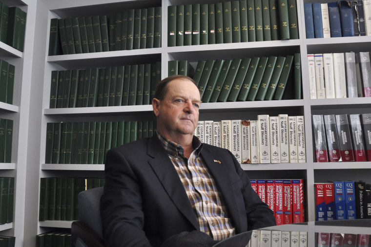 Gary Kiehne, Republican candidate from Arizona's 1st Congressional District, is pictured during an interview.