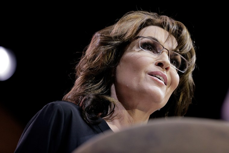 Sarah Palin speaks during the 41st annual Conservative Political Action Conference on March 8, 2014 in National Harbor, Maryland.