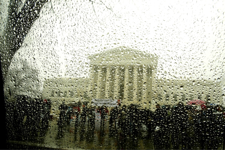 The Supreme Court is seen in Washington on March 25, 2014.