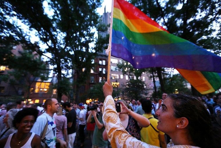 Supreme Court Gay Marriage Decisions Celebrated At Historic Stonewall Inn