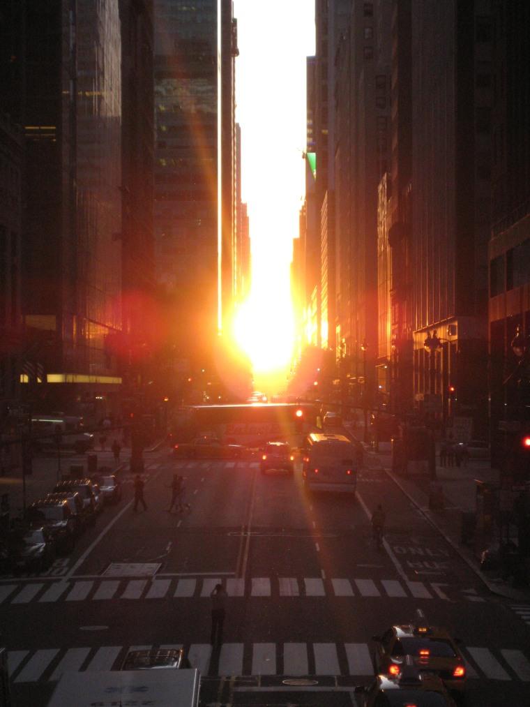 Manhattanhenge, 2009