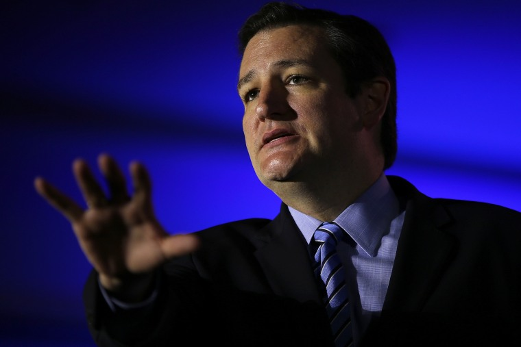 Sen. Ted Cruz (R-Texas) speaks during the final day of the 2014 Republican Leadership Conference on May 31, 2014 in New Orleans, La.