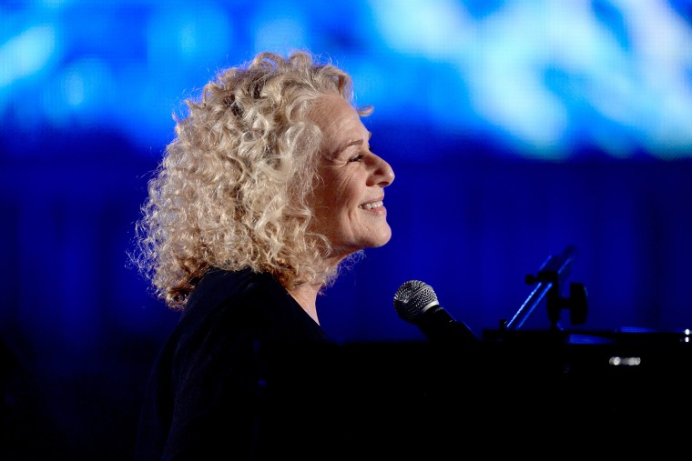 Musician Carole King performs onstage during the 56th GRAMMY Awards at Staples Center on Jan. 26, 2014 in Los Angeles, Calif.