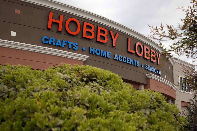 A Hobby Lobby store in Antioch, California.
