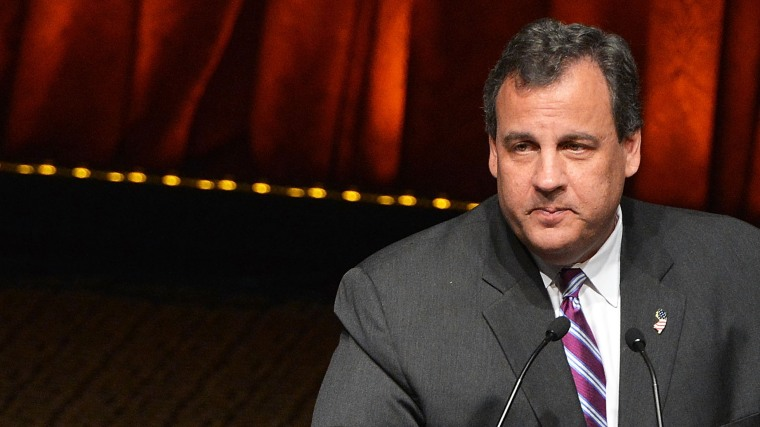 New Jersey Governor Chris Christie attends the 2014 Father Of The Year Awards at New York Hilton on June 4, 2014 in New York City.