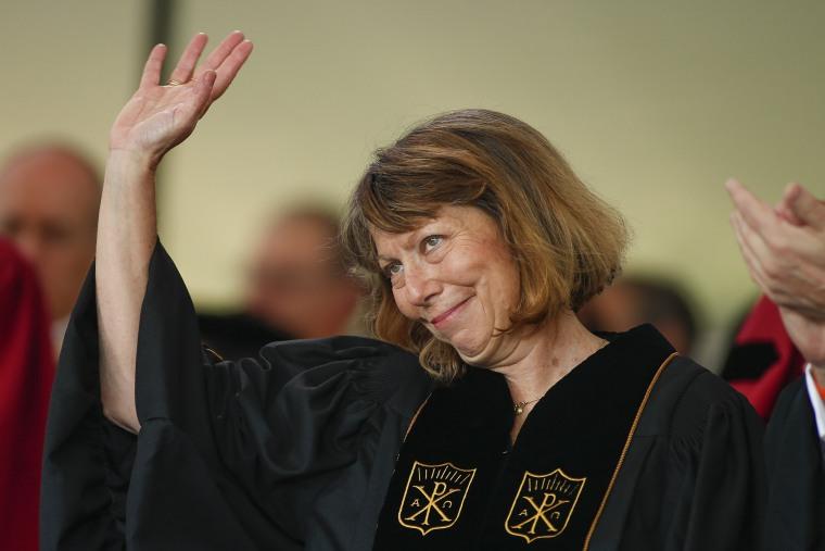 Former New York Times Executive Editor Jill Abramson