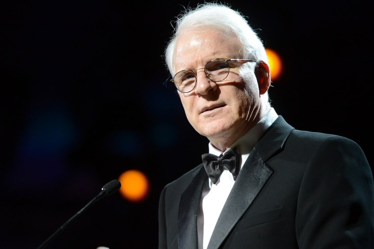 Actor/Musician Steve Martin at an event in Phoenix, Arizona, on March 23, 2013.
