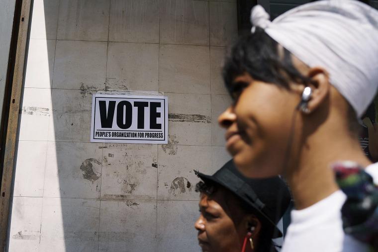 Embattled City Of Newark Holds Mayoral Election