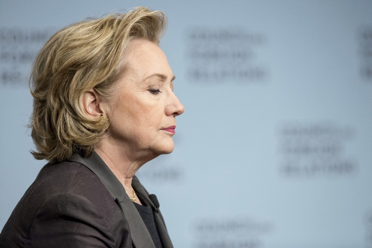 """Hillary Clinton participates in """"A Conversation with Hillary Rodham Clinton"""" at the Council on Foreign Relations June 12, 2014."""