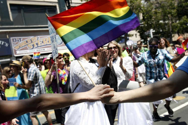 SF Gay Pride Parade Bolstered By Recent Supreme Court Rulings