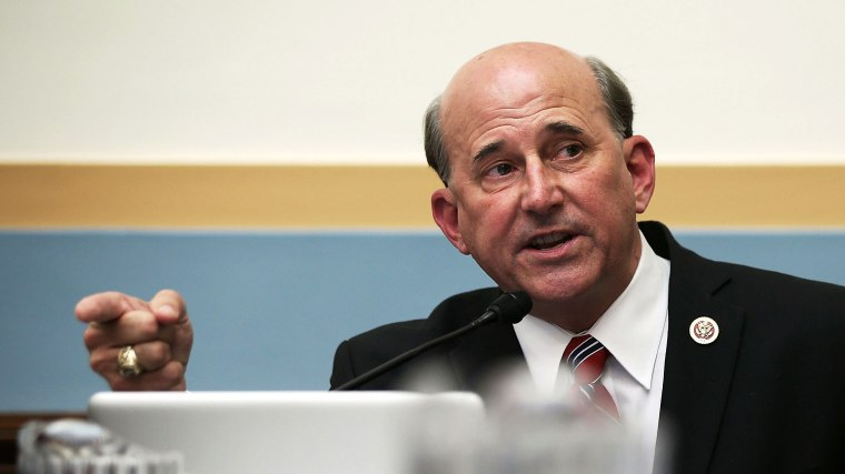 U.S. Rep. Louie Gohmert (R-TX) speaks during a hearing before the House Judiciary Committee on oversight of the U.S. Department of Justice May 15, 2013 on Capitol Hill in Washington, DC.