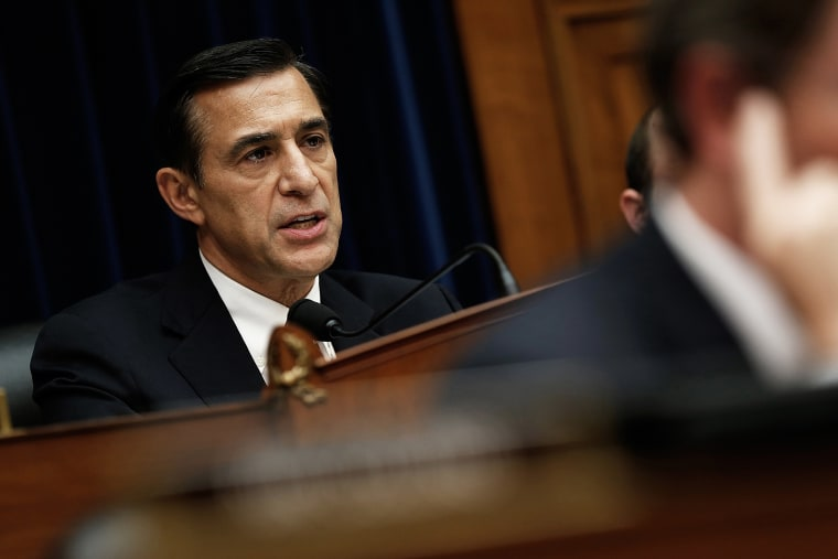House Oversight and Government Reform Committee Chairman Darrell Issa (R-Calif.) speaks during the testimony of Internal Revenue Service Commissioner John Koskinen June 23, 2014 in Washington, DC.