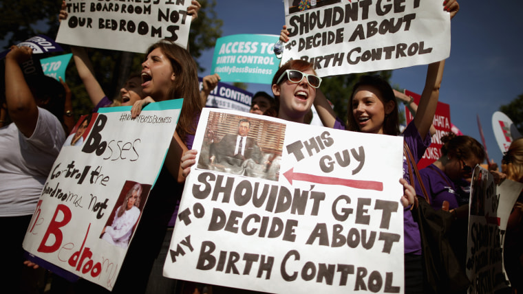 Image: Supreme Court Issues Rulings, Including Hobby Lobby ACA Contraception Mandate Case