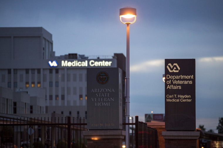 The Veterans Affairs Medical Center in Phoenix, May 29, 2014