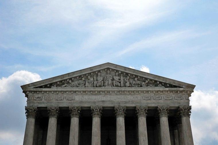 The U.S. Supreme Court, June 25, 2014 in Washington, DC.