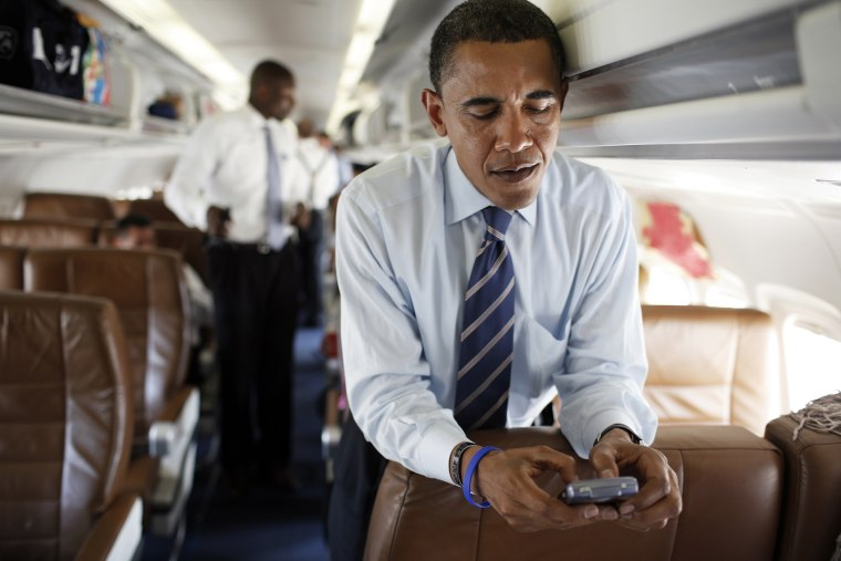 Senators Barack Obama and Hillary Rodham Clinton Campaign