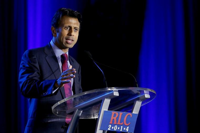 Louisiana Gov. Bobby Jindal speaks during the 2014 Republican Leadership Conference on May 29, 2014 in New Orleans, Louisiana.