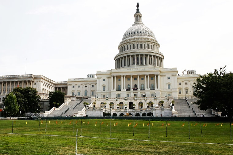 The West Lawn of the U.S. Capitol is seen on July 3, 2014.