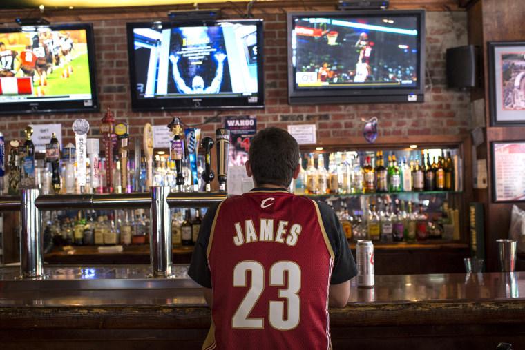 Cleveland Celebrates LeBron James Coming Home
