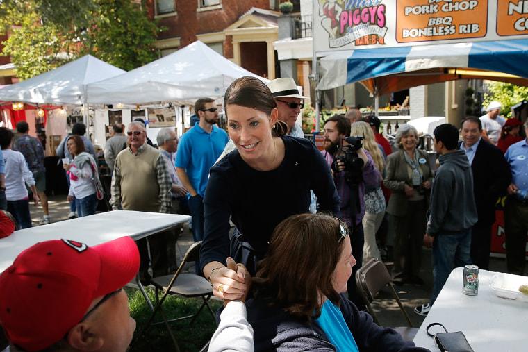 Democrat Alison Grimes Campaigns Ahead Of Kentucky Primary