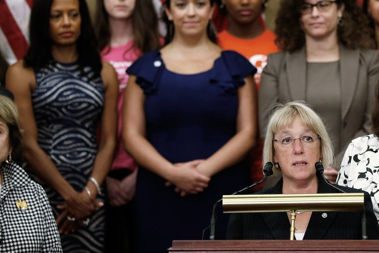 Pelosi Holds News Conference On Women's Health Rights And The Hobby Lobby Decision