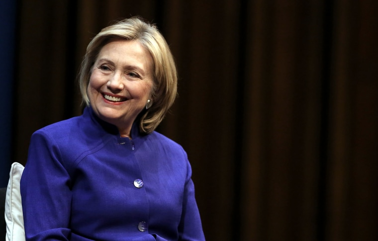 Hillary Rodham Clinton Book Presentation