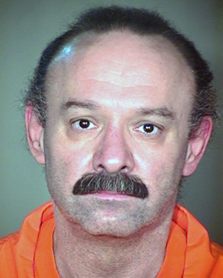 This undated file photo provided by the Arizona Department of Corrections shows inmate Joseph Rudolph Wood.