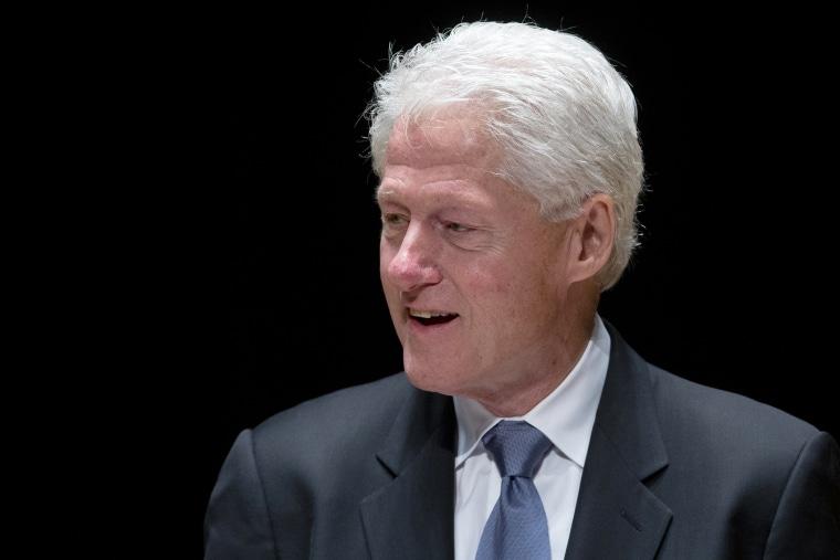 Former President Bill Clinton speaks during an event, June 4, 2014, in Philadelphia, Pa.