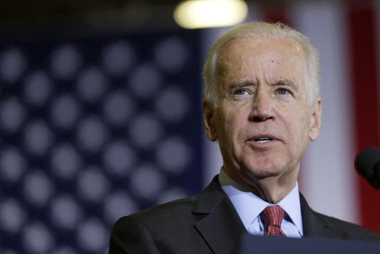 Vice President Joe Biden speaks at an event May 14, 2014, in Cleveland, Ohio.