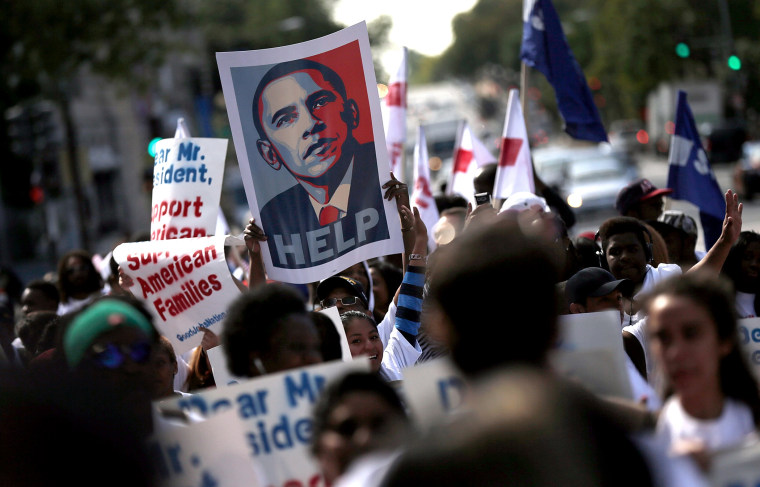 Low Wage Workers Hold Rally At White House