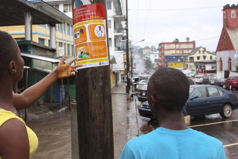 Ebola in Liberia