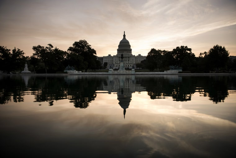 A view of Capitol Hill in Washington, D.C.