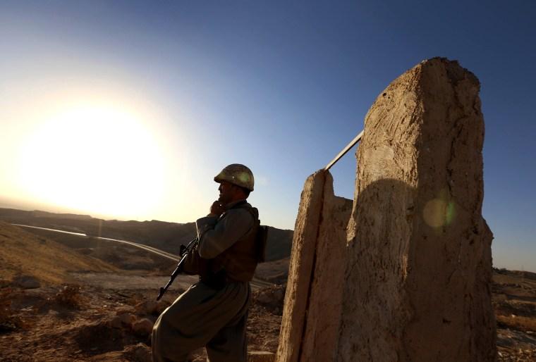 Image: IRAQ-UNREST-KURDS