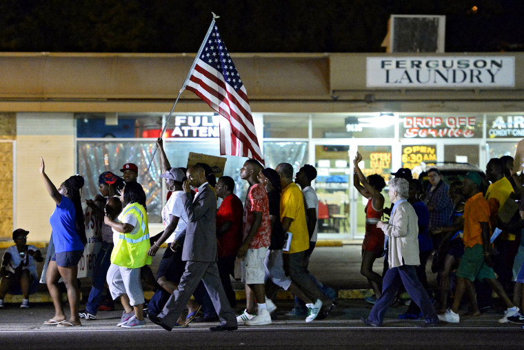 Protests over Michael Brown shooting