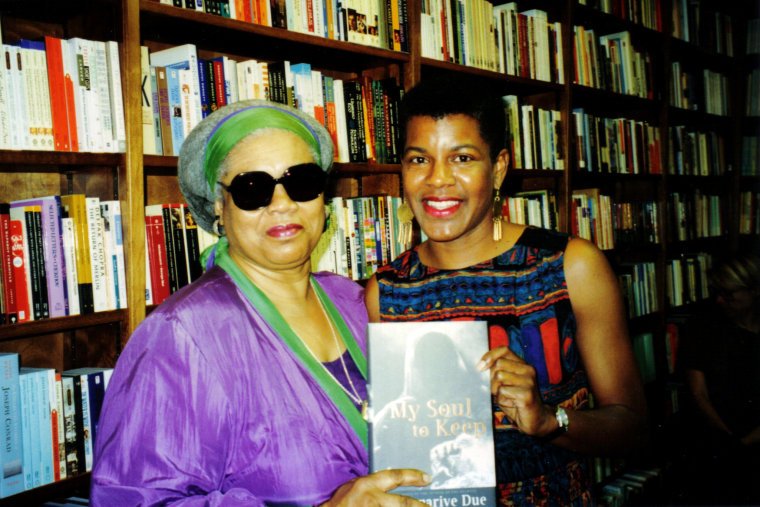 """Patricia Stephens Due and Tananarive Due, authors of """"FREEDOM IN THE FAMILY: A Mother-Daughter Memoir of the Fight for Civil Rights."""" Patricia Stephens Due died in 2012."""